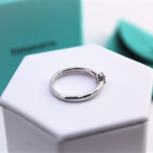 Tiffany & Co. Jewelry - Tiffany & Co. Platinum and Diamond Engagement Ring